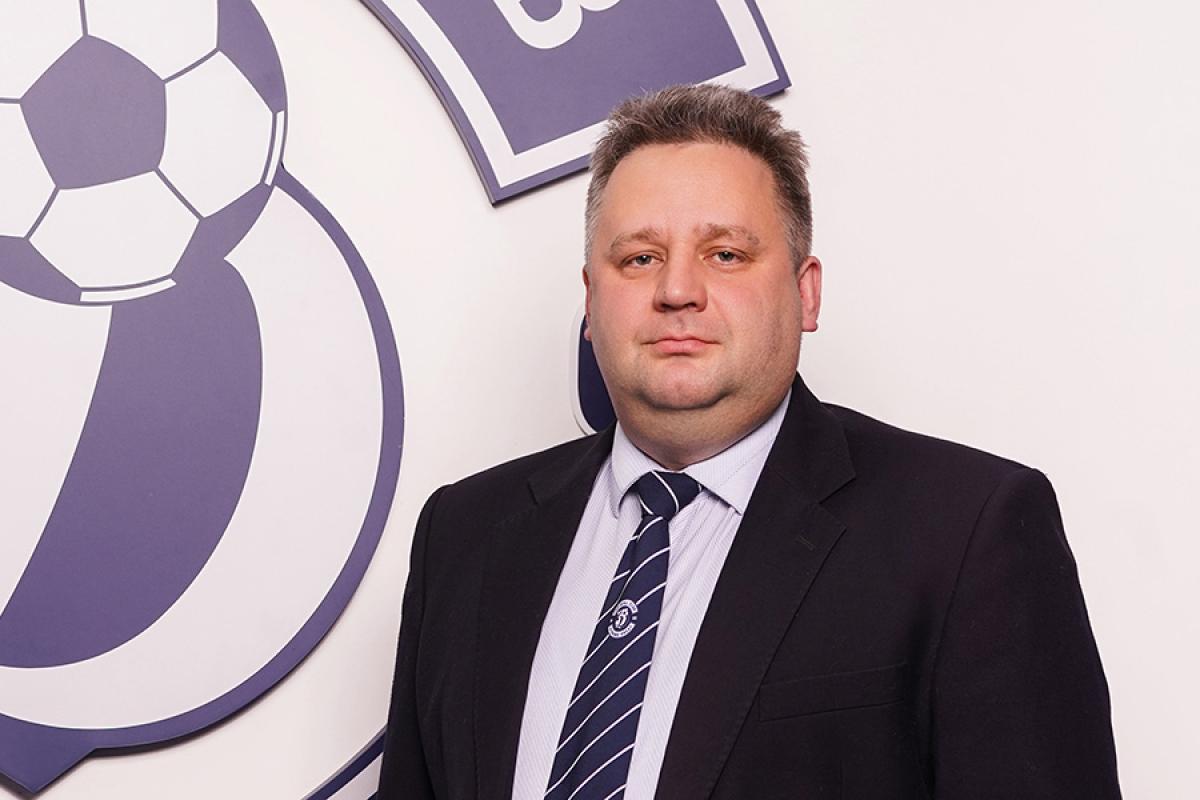 Сергей Воробьев стал генеральным директором «Динамо-Брест»